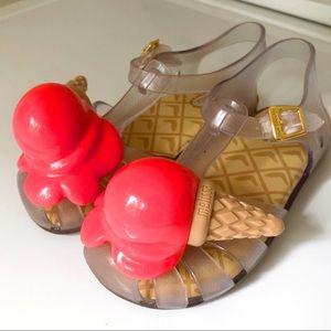 EUC Mini Melissa sandals